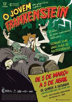 Coluna TEATRO: O JOVEM FRANKENSTEIN