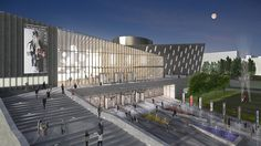 Wuxi Taihu New City-Poly Cultural Center Master Plan | Pei Partnership Architects | Archinect