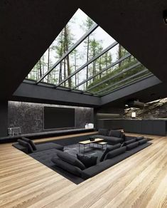 Dream House Interior, Luxury Homes Dream Houses, Dream Home Design, Modern House Design, My Dream Home, Home Interior Design, Villa Design, Modern Interior, Luxury Modern House