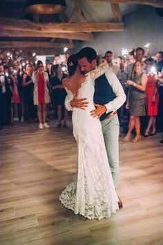 lace wedding dress by Olvi's