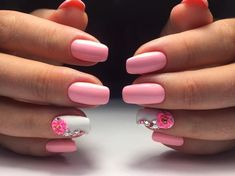 pink manicure #pink #manicure #nails #fashion #nailart #gelnails #instagood #nail #photooftheday #naildesign #pretty #gelpolish #nailswag #nailpolish #style #nailsoftheday #gel Pink Manicure, Gel Nails, Color Shapes, Shape Design, Swag Nails, Summer Nails, Gel Polish, You Nailed It, Nail Designs