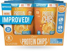 Here's a whole new reason to smile when you say CHEESE! This junk food favorite gets a Quest remix… with 22g of protein instead of empty carbs!