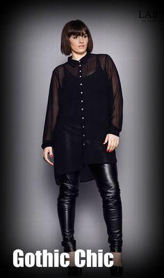 Gothic Chic..The Curvy Fashionista