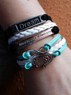 infinity bracelet <3