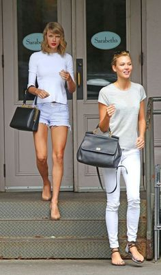 Taylor Swift and Karlie Kloss.