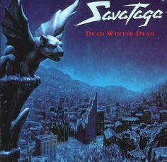 Printed Canvas:Savatage-Edge Of Thorns-art lp Trans-Siberian orchestra//avatar