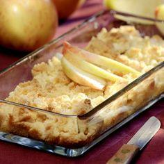 """""""Das Rezept für das Apfel-Crumble habe ich schon häufig weitergegeben, weil es so gut ankam"""", erzählt Meike Hilbing aus Vreden-Kleinemast im Kreis..."""