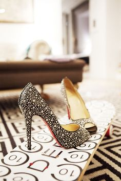 If I had these I'd wear them at least once a day....no matter what I was wearing. Louboutin