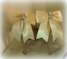 Wedding Bridal Shoe Clips  set of 2  with by ShoeClipsOnly on Etsy