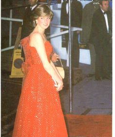 """June 24, 1981: Prince Charles and Lady Diana attend West End Royal Premiere of the latest James Bond film, """"For Your Eyes Only""""."""