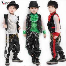 hip hop costumes for boys | children dance clothes boys children's hip-hop jazz dance clothes ...