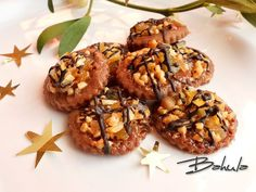 Christmas Baking, Christmas Cookies, Czech Recipes, Ethnic Recipes, Crinkles, Baked Goods, Baking Recipes, Almond, Stuffed Mushrooms
