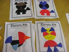 Check out Ed Emberley's Picture Pie for great fraction art project ideas.