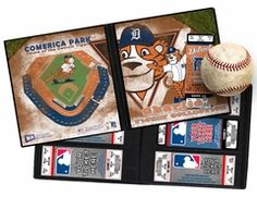 Personalized Detroit Tigers Mascot Ticket Album - Paws. Our Personalized MLB Mascot Ticket Album put your child's name on the cover. A Ticket Album is a photo album for your children's tickets and allows you to create a single display that will keep the memories of the games they've attended as fresh as the day they were there.