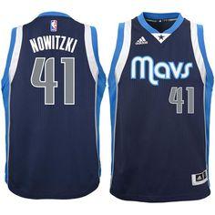 Dirk Nowitzki Dallas Mavericks Youth Swingman Basketball Jersey - Navy - $74.99