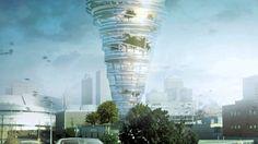 Amazing Building with Tornado Concept #rumahkuarchitecture