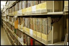Old files, comics, etc. can easily take up too much space in your home - so get a self storage unit to keep them safe and out of the way!
