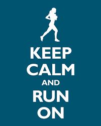 Image result for keep calm and run