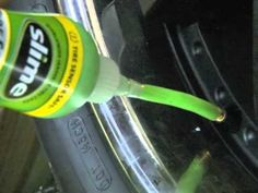 How Slime Tire Sealant Works