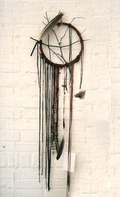 Make your own dreamcatcher out of branches, feathers, strips of leather, etc.
