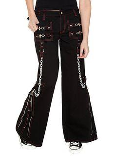 Tripp Black And Red Dark Street Pants