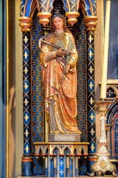 Catholic Saints, Roman Catholic, Saint Philomena, Mystic, Santa, Painting, Catholic, Painting Art, Paintings