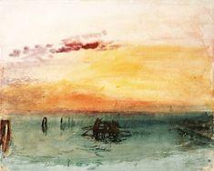 William Turner - Venedig, von Fusina aus gesehen