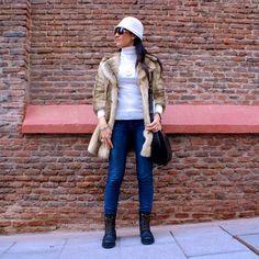 Blog de moda y belleza La Caprichossa: Look con botas militares