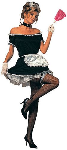 Everyone loves (or at least fantasizes about) the sexy French maid. As far as sexy costumes goes, the French maid is one of the most popular and for good reason. French Maid Lingerie, French Maid Dress, French Maid Costume, Sexy Halloween Costumes, Adult Costumes, Costumes For Women, Maid Costumes, Funny Halloween, Women Halloween