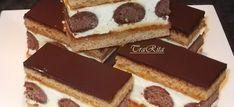 Hungarian Desserts, Hungarian Recipes, No Bake Desserts, Dessert Recipes, Sweets Cake, Food Cakes, Creative Cakes, International Recipes, Diy Food