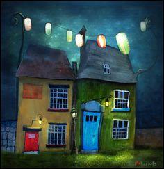 """""""While the Town Sleeps"""" III - Matylda Konecka Art"""