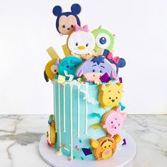 "15.2k Likes, 220 Comments - Vickie Liu (@vickiee_yo) on Instagram: ""My Tsum Tsum cookies on baker wifey @rymondtn's amazing cake [ by @rymondtn] ✌"""