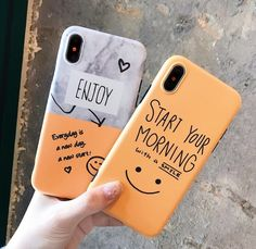 start your morning with a smile iphone case