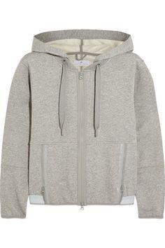 Adidas by Stella McCartney Essentials cotton-blend jersey hooded top
