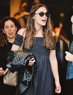 """Keira Knightley spotted leaving Venice, Italy (16.09.2016) """