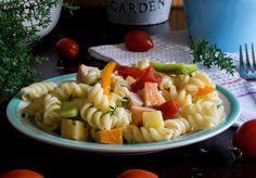 Καλοκαιρινή μακαρονοσαλάτα με λαχανικά - Just life Ethnic Recipes, Food, Essen, Meals, Yemek, Eten