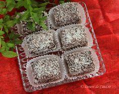 Prajitura de post cu nuca de cocos - Desert De Casa - Maria Popa Deserts, Desserts, Dessert, Postres