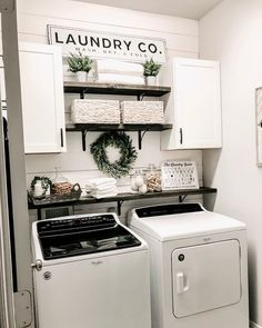 Below are the Farmhouse Laundry Room Storage Decoration Ideas. This post about Farmhouse Laundry Room Storage Decoration Ideas was posted … Tiny Laundry Rooms, Laundry Room Remodel, Laundry Room Organization, Laundry Room Design, Organization Ideas, Basement Laundry, Laundry Decor, Laundry Room Shelving, Laundry Room Small Ideas