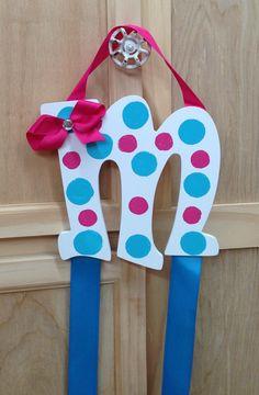 Hair bow ribbon holder $15.00