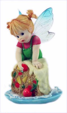 Fruit Cake Fairie - From Series Six of the My Little Kitchen Fairies collection