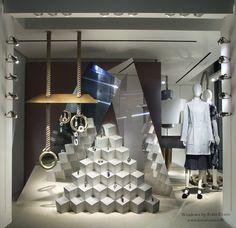 da835a3796 fotis evans creates in-store displays for Hermès SS17