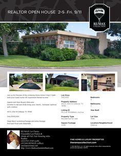 REALTOR OPEN House Flyer