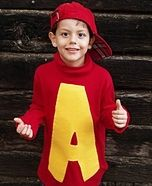 Alvin and the Chipmunks Costume-and idea for one of the boys