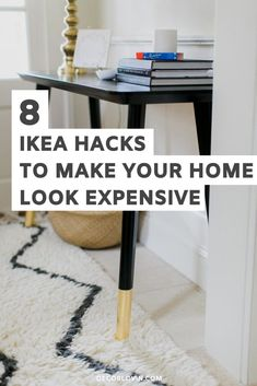 IKEA furniture hacks that will make your home look expensive. Save money decorating your home with these DIY IKEA hack ideas! Painting Ikea Furniture, Ikea Furniture Hacks, Thrift Store Furniture, Diy Furniture Redo, Diy Furniture Projects, Ikea Hacks, Diy Projects, Repurposed Furniture, Furniture Refinishing