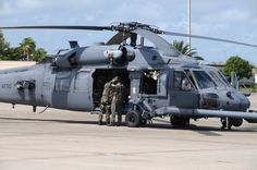 Air Force Reserve Command combat search and rescue units fly the HH-60 Pave Hawk helicopter. (U.S. Air Force file photo)