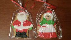 Galletas de Papá y Mamá Noel!!