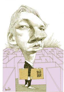 Assange - Pancho Cajas
