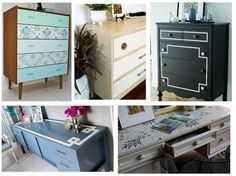 fancied up pieces: black and white using painters tape!