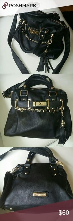 Steve Madden Purse New Steve Madden Cross body purse. Lots of detail, great accessory to any outfit. PRICE ON THIS IS FIRM. If I cannot sell for listed price, I will just keep it, it's a really cute purse. Bags Crossbody Bags