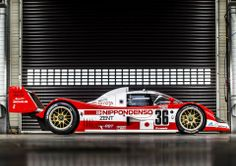 TS010 Group C car, from 1991-3.  This car might have provided Toyota with their first (and only Japan's second) Le Mans win, had it not been for the dominance of Peugeot's 905 Evo.